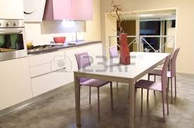 kitchen furniture stores modern kitchen with steel table and cooking platform stylish