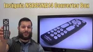 insignia nsrc5na14 digital tv tuner converter box remote www