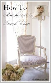 How To Reupholster A Bar Stool Best 20 French Chairs Ideas On Pinterest French Country Chairs
