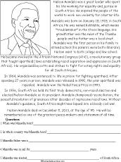 africa worksheets worksheets