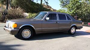 mercedes 420sel w126 mercedes 420sel s class 560sel 500 1 owner review