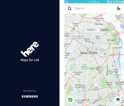 Here Maps Android Here Map New Here Maps Update For Android And Ios Just Released