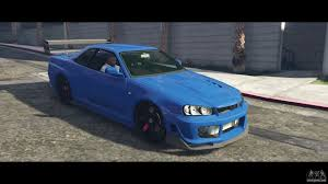 r34 nissan skyline r34 tommy kaira for gta 5