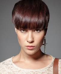 hair finder short bob hairstyles short hairstyle with a thick fringe that covers the eyebrows
