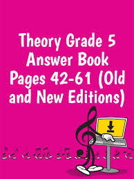 ameb theory grade 5 answer book pages 42 61 editions