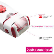 wholesale 3 in 1 head female epilator electric shaver hair remover