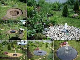 Backyard Water Feature Ideas Small Outdoor Water Features 17 Best Diy Garden Ideas Project
