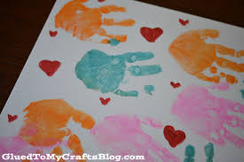 handprint mother u0027s day gifts a night owl blog