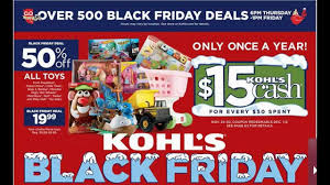 black friday kohls 2014 kohl u0027s black friday deals youtube