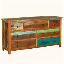 Reclaimed Wood Bedroom Furniture Top Distressed Wood Dresser On Rustic Reclaimed Wood 8 Drawer