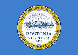 flag of boston wikipedia