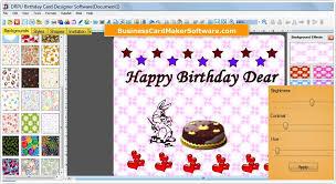 birthday card maker software make designer birth day cards using