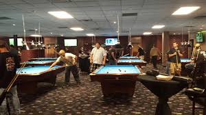 Professional Pool Table Size by Flix Sports Bar Billiards