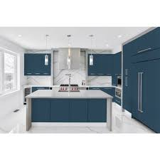 kitchen cabinets with blue doors pacific blue satin smooth