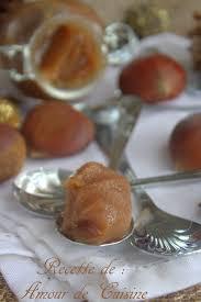 cuisiner marrons frais recette de la crème de marrons maison amour de cuisine