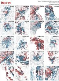 Maps Of Chicago Neighborhoods by Economically Integrated Neighborhoods Via Redfin