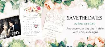 wedding invitations and save the dates save the date