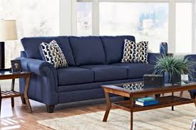 Blue Living Room Set Sofa Microfiber Navy Blue Living Room Set Sky Blue