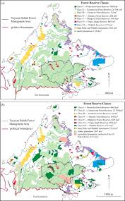 Worlds End State Park Map by Changes In Forest Land Use And Management In Sabah Malaysian
