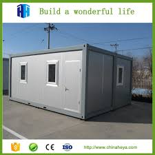 hight quality prefab steel structure living container house from heya