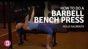 barbell bench press girls gone strong