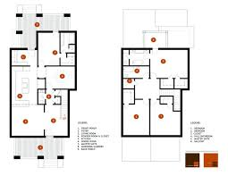 corner house plans architectures foursquare house plans architectures modern