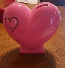 heart shaped piggy bank moose ceramic piggy bank ones piggy banks
