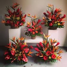 tropical flower arrangements flower arrangements gallery floral