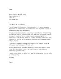 cover letter sample for staff accountant mediafoxstudio com