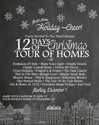 day 1 12 days christmas tour homes 2015 evolution style