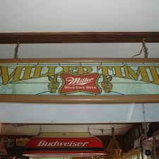 Miller Genuine Draft Pool Table Light Miller Breweriana Collectors Weekly