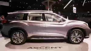 subaru forester interior 3rd row amazing 2018 subaru ascent interior youtube