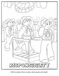 cub scout and camping coloring pages printable scouting outdoor