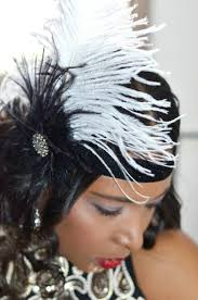 flapper headband diy diy roaring 20s flapper feather headband hair clip