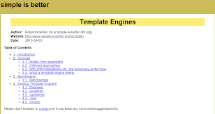 html template engine 28 images searching for a notification