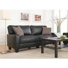 Rosa Sofa Serta Santa Rosa Collection Bonded Leather Deluxe Sofa Black