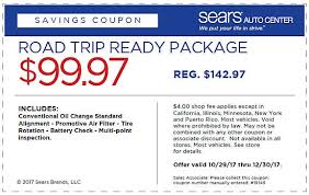 Brake And Light Inspection Price Auto Rebates And Coupons Sears