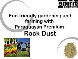 premium paraguayan rock dust