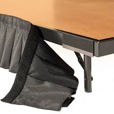 table skirt clips with velcro ameristage skirt magnets for attaching skirts to steel stage 8 pack