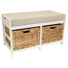 Bench With Storage Baskets by Bathroom Modern Bathroom Bench With Storage Design Black Wooden