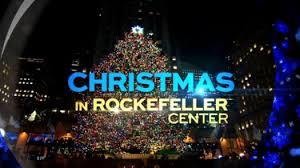 rockefeller center christmas tree lighting archives on location