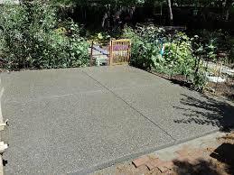 Exposed Aggregate Patio Stones Pea Gravel Exposed Aggregate Patio In Davis Solano County Yolo