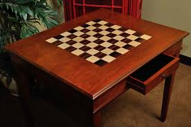 Chess Table The Camaratta Signature Master Chess Table House Of Staunton