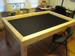 diy board game table this guy built his own gaming table my fake house