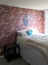 york wallcoverings brick wallpaper bedroom los angeles by