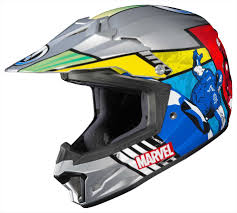 youth motocross goggles helmet racing kinetic block out junior kids hjc clxy avengers