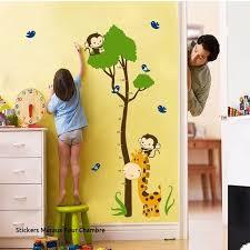 stickers girafe chambre bébé stickers muraux pour chambre loverossia com