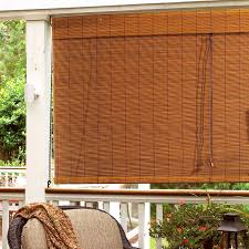 patio bamboo blinds matchstick sears rollup energoresurs