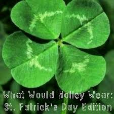 what would holley wear st patrick u0027s day edition home with a twist