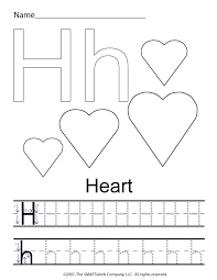 brilliant ideas of letter h tracing worksheets preschool on resume